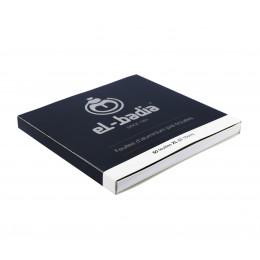 50 Aluminium Xl Troué 15cm