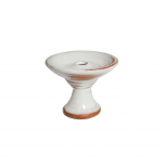 SAPHIRE FLAT HEAD Bowl : Color:WHITE, Size:T.U