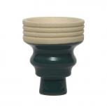 MYA BEVEL Bowl : Color:VERT, Size:T.U