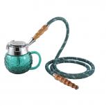 MYA COPPA Hookah : Color:VERT, Size:T.U