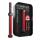 STARBUZZ WIRELESS SHISHA MINI : Size:T.U, Color:ROUGE