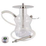 ODUMAN N3 Hookah : Size:T.U, Color:CLEAR