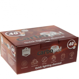 CARBOPOL RING 40mm Quick Light Charcoal