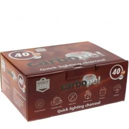 Charbons CARBOPOL 40mm boite de 100