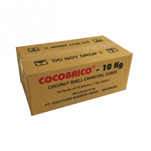 COCOBRICO 10Kg Natural Coal