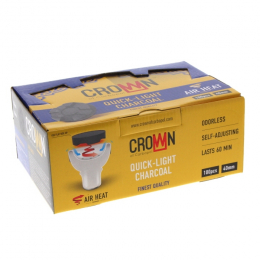 Coal CARBOPOL CROWN 40mm box of 100