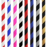 Tubo flessibile in silicone Striped : Taille:T.U, Colori:SILVER-BLACK