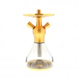 EL-BADIA CELESTE X1 Hookah : Size:T.U, Color:SANDBLASTED GOLD