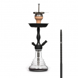 MS 490 CLICK Hookah : Color:NOIR/TRANSPARENT, Size:T.U