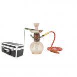 MYA BAMBINO Hookah : Color:ROSE CLAIR, Size:T.U