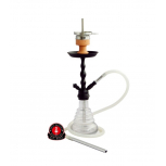 AMY 450 VOLCANO Hookah : Size:T.U, Color:BLACK-WHITE