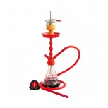 AMY 450 VOLCANO Hookah : Color:RED-RED, Size:T.U