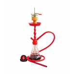 AMY 450 VOLCANO Hookah : Size:T.U, Color:RED-RED