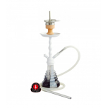 AMY 450 VOLCANO Hookah : Size:T.U, Color:WHITE-WHITE