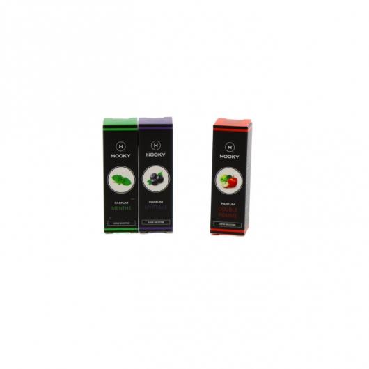 Pack 3 E-liquide Hooky 10ml