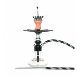 Ms Leão Hookah : Color:BLACK / SNOW WHITE, Size:T.U