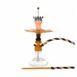 Ms Leão Hookah : Color:GOLD / BAT BLACK, Size:T.U