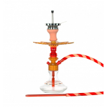 Ms Leão Hookah : Color:GOLD / RED CHILL, Size:T.U