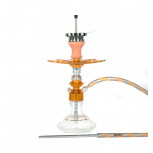 Ms Leão Hookah : Color:GOLD / SNOW WHITE, Size:T.U