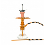 Ms Leão Hookah : Color:GOLD / GLOSS GOLD, Size:T.U