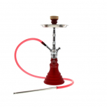 Shisha Mya Melina : Taille:T.U, Couleur:CHROME/FROSTED RED