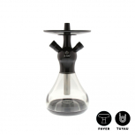 EL-BADIA CELESTE X1 Hookah : Color:BLACK PHANTOM, Size:T.U