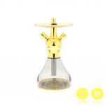EL-BADIA CELESTE X1 Hookah : Color:VEGAS GOLD, Size:T.U