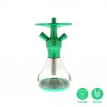 EL-BADIA CELESTE X1 Hookah : Color:GREEN MINT, Size:T.U