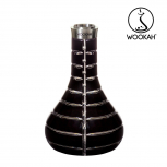 Wookah Bottle : Size:T.U, Color:STRIPED BLACK