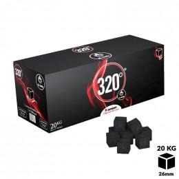 Charbons 320° Cubes 26mm 20kg