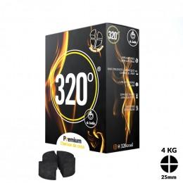 Charbons El-Badia 320° DISC 4 blocs 4Kg
