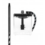 MS MICRO Hookah : Size:T.U, Color:CLEAR / BLACK
