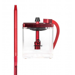 MS MICRO Hookah : Size:T.U, Color:CLEAR / RED