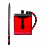 MS MICRO Hookah : Size:T.U, Color:RED / BLACK