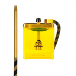 MS MICRO Hookah : Size:T.U, Color:YELLOW / GOLD