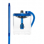 MS MICRO Hookah : Size:T.U, Color:CLEAR / BLUE