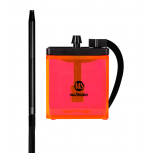 MS MICRO Hookah : Size:T.U, Color:ORANGE / BLACK