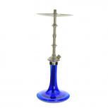 QUENTINS VERON STEEL Hookah : Size:T.U, Color:BLUE SHINY