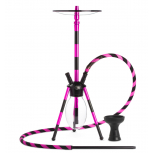 MS VENOM Hookah : Color:NOIR ROSE, Size:T.U