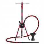 MS VENOM Hookah : Color:NOIR ROUGE, Size:T.U