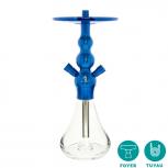 CELESTE X3 shisha pipe : Size:T.U, Color:BLUE