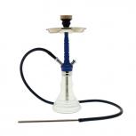 Mya Melina Hookah : Size:T.U, Color:BLUE CHROME / CLEAR
