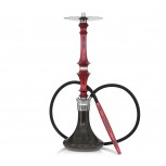 HARDWOOD HOOKAH SUPREME : Size:T.U, Color:BLACK RED BLACK