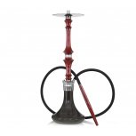 HARDWOOD HOOKAH SUPREME : Size:T.U, Color:BURGUNDY BLACK
