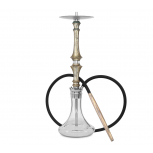 HARDWOOD HOOKAH SUPREME : Size:T.U, Color:GOLD