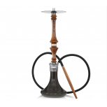 HARDWOOD HOOKAH SUPREME : Size:T.U, Color:WALNUT