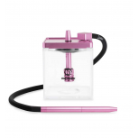 MS MICRO Hookah : Size:T.U, Color:CLEAR / PINK