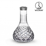 Vase Wookah Crystal Click : Size:T.U, Color:CHECK