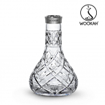 Vase Wookah Crystal Click : Size:T.U, Color:OLIVES