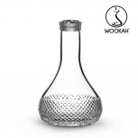 Vase Wookah Crystal Click : Size:T.U, Color:QUILLS